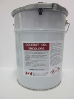 Gelcoat 161 Incolore / 5 Kg - Polyester Van Damme